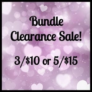 🔴 Red Dot in Title - Bundle Clearance Sale!!🔴